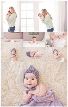 3 month session mama love Samantha K Photography MA baby photographer