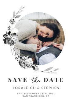 Smokey Flowers - Save the Date Card #announcements #printable #diy #template #savethedate #wedding #weddingsavethedate Free Wedding Invitations, Save The Date Cards, Announcement, Dating, Printable, Flowers, Diy, Ideas, Quotes