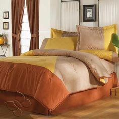 Amaretto Double Sided Comforter Set $179.90-$234.90 - A Bit Unique Boutique