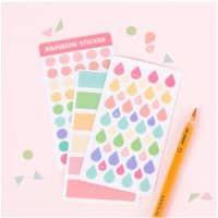 Rainbow Sticker Collection