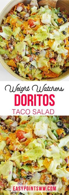 WW Doritos Taco Salad ♥