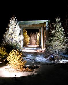 24 best led landscape lighting images on pinterest landscape durable led landscape lights illuminating an arbor pergola these waterproof easy to install aloadofball Choice Image