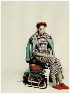 "Lily Cole Photo Paolo Roversi Pop Magazine ""Spent"" 2009"