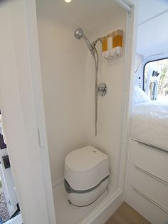 Build a wet bath and a wet shower in a Promaster DIY motorhome Building a Wet Bath and Shower into Promaster DIY Camper Van - Creative Vans