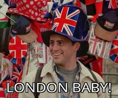 Next up for the Celtics..it's London baby! We're looking forward to having you over here lads! Thats my fav episode!!