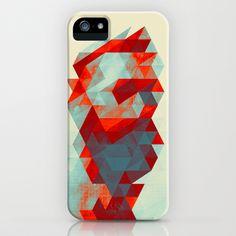Tri's IV iPhone & iPod Case by Rain Carnival - $35.00 #iphone #samsung #case #skin #triangle #face