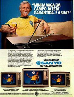 Televisores Sanyo - 1982 - Propagandas Históricas