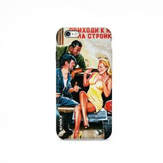 Vintage Chat Up Poster iPhone 4 case iPhone 5 case by VDirectCases Iphone 5c Cases, Iphone 4, Cell Phone Cases, Nexus 5 Case, Lg G3, Design Case, Phone Covers, Tech Accessories, Galaxy S3