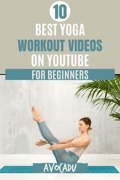 These yoga workouts for weight loss will help strengthen your muscles and improve your flexibility. #avocadu #yoga #yogavideo #beginneryoga Yoga Workouts, Yoga For Weight Loss, Yoga Videos, Best Yoga, Workout Ideas, Yoga For Beginners, Yoga Inspiration, Yoga Fitness, How To Lose Weight Fast