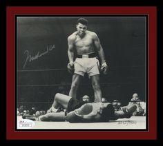 Muhammad Ali Signed Photo. Framed. JSA