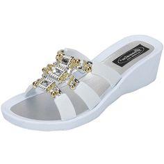 eaf95c7c9e74 Grandco Sandals - Celeste Wedge Slide 28213