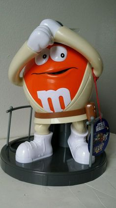 "Star Wars Luke Skywalker Orange M M Candy M M Dispenser Plastic Large 11""   eBay"