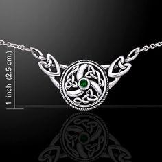 Celtic Knotwork Silver Necklace TN162