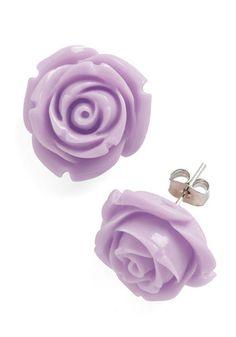 Violet Rose Earrings