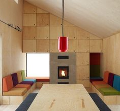 Playful Kindergarden Design · Plywood InteriorPlywood FurnitureInterior  WallsInterior ...