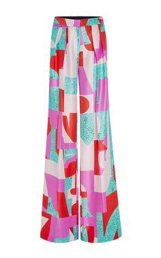 Silk Larchmont Trousers by ROKSANDA for Preorder on Moda Operandi