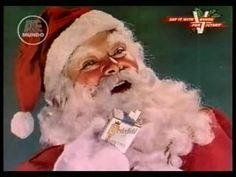 Papai Noel Fazendo Propaganda dos Cigarros Chesterfield
