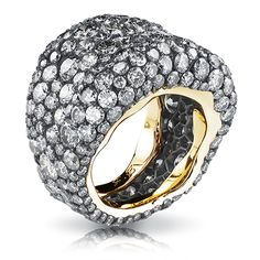 Fabergé Emotion Grise Ring #EmotionRings #FabergeLoves