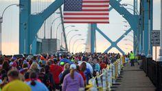 Detroit Half Marathon July 2017