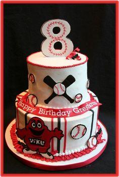 baseball cake...cute!