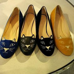 #cat #flatshoes spotted at #nordstrom at #thegrove #toocute #catshoes | Content shared via nordstrom Inspiration Gallery