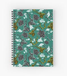 'Kudu & Succulent with watercolour splashes' Spiral Notebook by Amanda D-Hay Iphone Wallet, Sell Your Art, Artwork Prints, Finding Yourself, Succulents, Stationery, Notebook, Watercolor, Artists