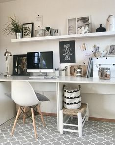 luscious minimalist furniture photography ideas 13 < Home Design Ideas Guest Room Office, Home Office Space, Home Office Design, Home Office Decor, House Design, Home Decor, Home Study Rooms, Study Room Decor, Bedroom Decor