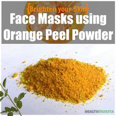 Orange peel face mask recipes are easy to make at home, using common ingredients available in your kitchen. Orange peel is nutrient-rich and has many benefits for skin, including skin lightening.