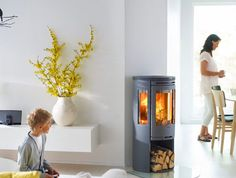 Contact or Call into our showroom at THSHeat Carnforth to have a look at our carefully selected quality stoves from Scandinavia. Once a stove is chosen we can arrange a survey with our local fully qualified Hetas stove installers. Painting Wooden Furniture, Furniture Decor, Stove Fireplace, Log Burner, House Extensions, Wood Burning, New Homes, Home Appliances, Indoor