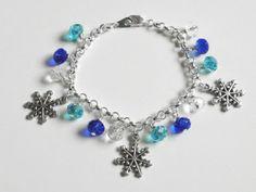 snowflake bracelets | Snowflake Charm Bracelet | Jewelry: Inspiration | Pinterest