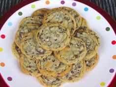 Cooking at Home: Chewy Chocolate Chip Cookies.  They can't be just soft, they have to be chewy!
