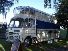 1967 Bedford SB3 vintage mobile cinema bus