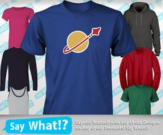 Spaceman Logo - funny lego t-shirt movie hoodie tank tshirt mens classic space astronaut nasa on Etsy, $12.95