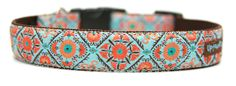 Great dog collar selection. Check it out at uptowncharlie.com