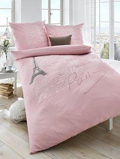 Bettwäsche in rosé