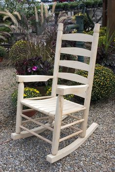 Nothing says rest and relaxation like a pair of wooden rocking chairs on a covered porch. Like other wooden outdoor furniture, wooden rocking chairs can provide years of...