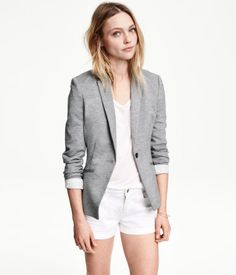 A blazer to take it from casual to work.