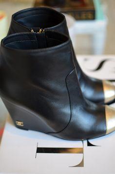Chanel booties http://pinterest.com/treypeezy http://twitter.com/TreyPeezy http://instagram.com/treypeezydot http://OceanviewBLVD.com