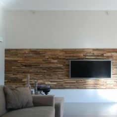 tv wand selfmade diy holz wohnzimmer dahoam wohnzimmer wand pinterest tv w nde. Black Bedroom Furniture Sets. Home Design Ideas