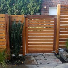 Seattle Home Horizontal Slat Fence Design Ideas, Pictures, Remodel, and Decor