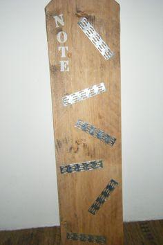 magneetbord steigerhout