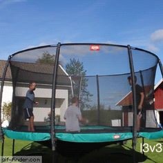 Worst Trampoline Fail Ever | Gif Finder – Find and Share funny animated gifs