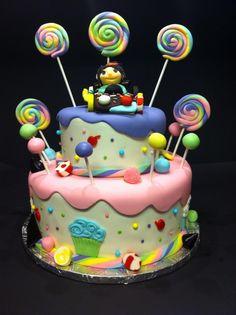 Wreck it ralph vanelope Von schweets cake