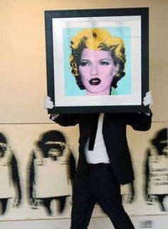 Kate Moss by bansky