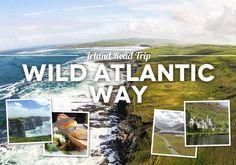 Road Trip Wild Atlantic Way: 16 Highlights entlang Irlands spektakulärer Küstenstraße bis zu den Cliffs of Moher Reisebericht Wild Atlantic Way Rundreise: Beste Sehenswürdigkeiten, Reisetipps, Highlights, Wanderungen, Campingplätze. Irland Road Trip mit Campervan.