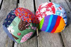 Soft Stuffed Fabric Scrap Busting Ball Pattern + Tutorial Nina Makes (2)