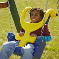 As seen in the Summer 2013 Chicago Special Parent Magazine.    http://www.swing-n-slide.com/pdfs/Press%20Release%20Adaptive%20Swing%20Helps%20Children%20In%20Own%20Backyard.pdf