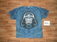 Darth Vader in Tie Dye S5095 XXL by TieDyeStevedotCom on Etsy, $120.00
