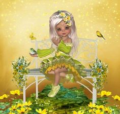 ♥ Little Design ♥ Square Card, Little Designs, Princess Zelda, Disney Princess, Cute Dolls, Tinkerbell, Enchanted, Disney Characters, Fictional Characters