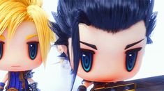 World of Final Fantasy: Meli-Melo's Adorable Opening Movie Shows Cloud, Zack, Lightning, And Final Fantasy 3, Fantasy Series, Zack Fair, Vincent Valentine, Kingdom Hearts Art, Pusheen Cat, Cloud Strife, Finals, Clouds